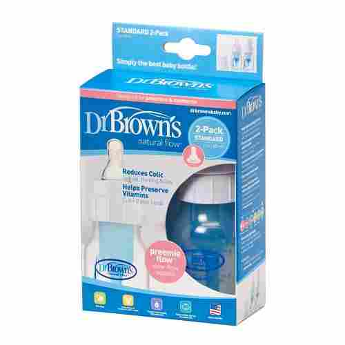 dr browns original 2 ounce preemie baby bottle pack
