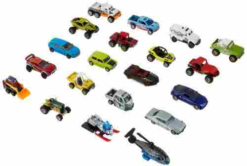 matchbox adventure pack 20 die-cast vehicles