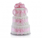 Classic Pastel Baby Shower (3 Tier, Pink)