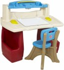 step2 toy deluxe art master desk