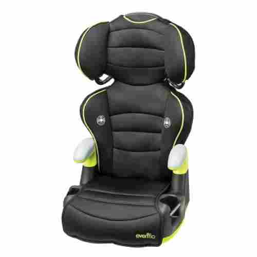 evenflo naperville high back booster seat design