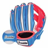 Franklin Sports Air Tech Foam Baseball Glove Set