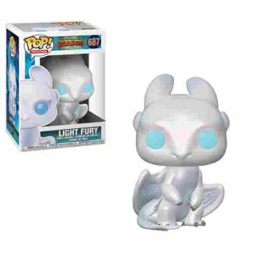Funko Pop! Movies: Light Fury how to train your dragon toys