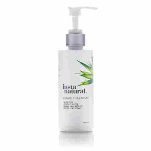 instanatural vitamin c face wash for teens bottle