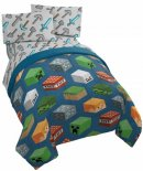 jay franco minecraft isometric kids' bedding set