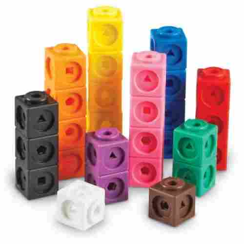 mathlink cubes set of 100 cubes learning resources toys