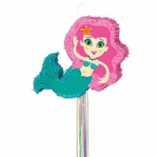 Mermaid Pull String