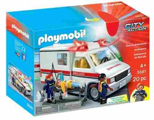 playmobil rescue ambulance box
