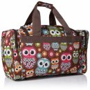 rockland 19 inch tote hospital bag owls