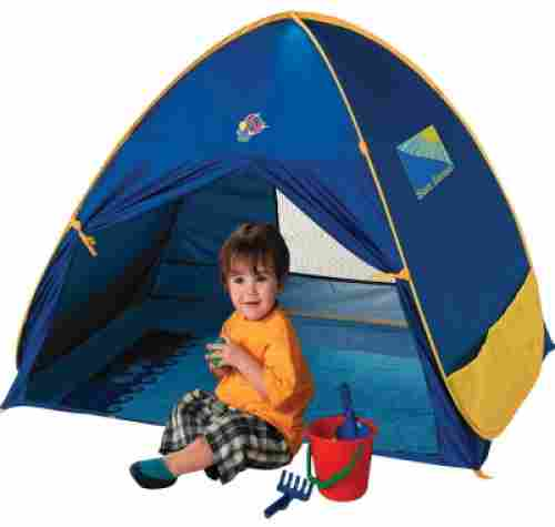 Schylling Play Shade Baby Tent front