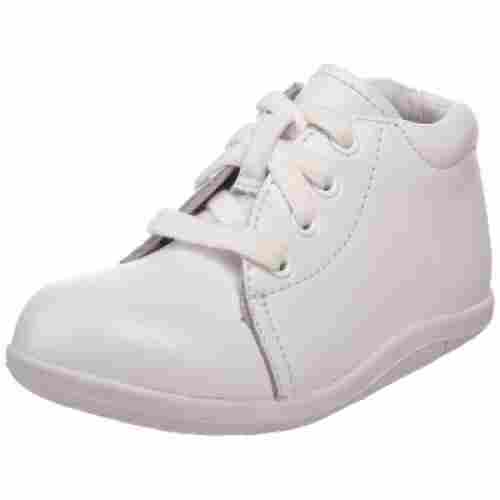 stride rite baby walking shoe white