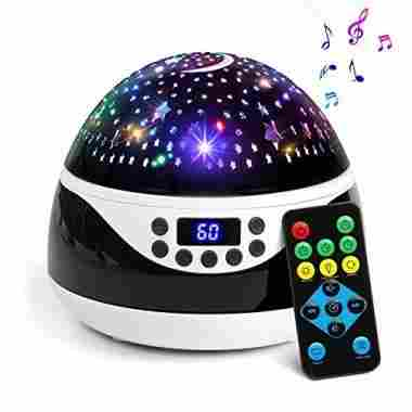AnanBros Remote Control Star Projector & Music Player