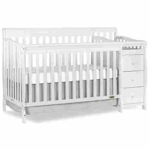 dream on me 5-in-1 brody crib with changing table