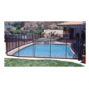 GLI 30-0410-BLK 4' x 10' Best Pool Fences display