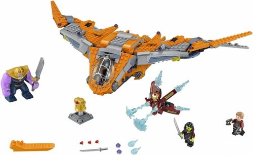 marvel lego avengers inifinity war thanos ultimate battle pieces