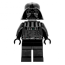 ClicTime Lego Star Wars Darth Vader Kids Minifigure Light Up Alarm Clock