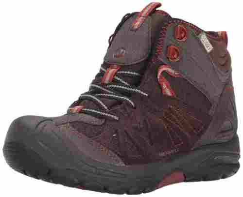 merrell capra kids hiking boots waterproof
