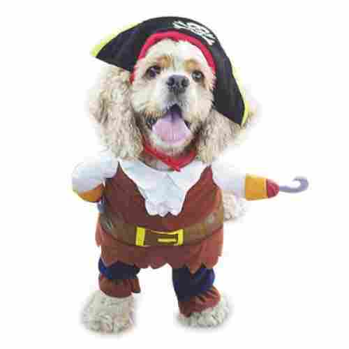 pirates of the caribbean halloween dog costume design