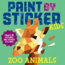 kids activity book Paint by Sticker Zoo Animals