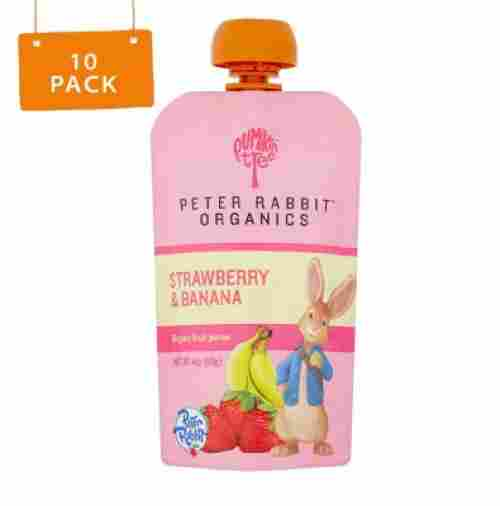 Peter Rabbit Squeeze Pouch organic snacks for toddlers
