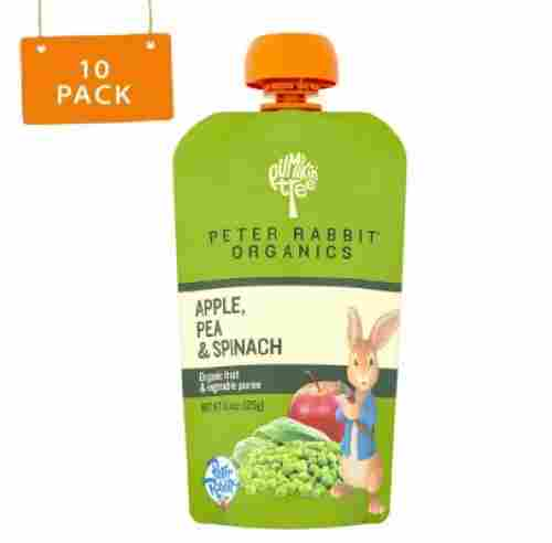 peter rabbit baby food pouch organic