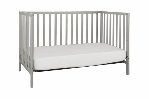union 3-in-1 convertible crib grey