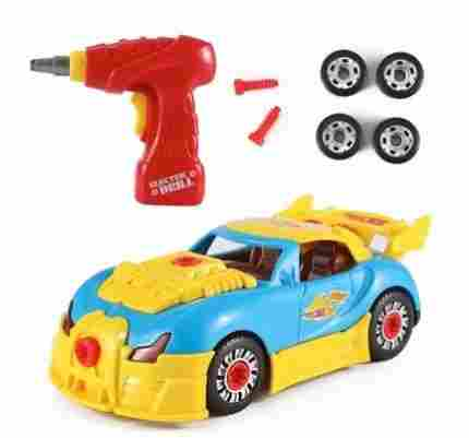 With A Colorful Yellow And Blue Futuristic Body The World Racing Car By Liberty Imports Is Must Have For Any 4 Year Old Boy