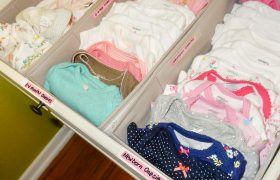 Baby Clothes Preparation and Organization
