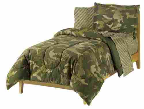 dream factory geo camo army kids bedding set