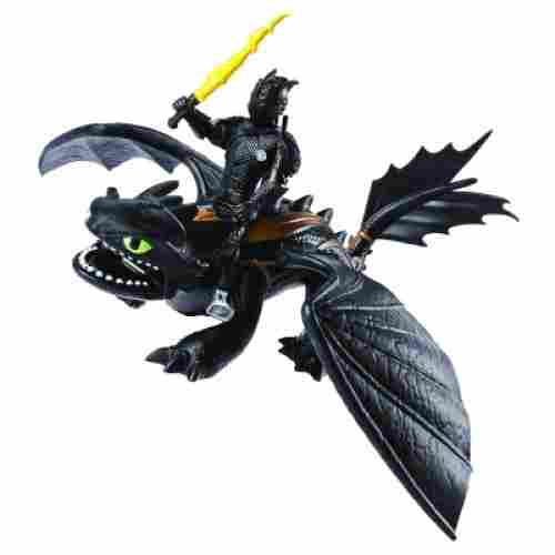 Dreamworks Toothless & Hiccup how to train your dragon toys