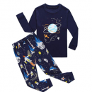 family feeling space baby pajamas 100% Cotton