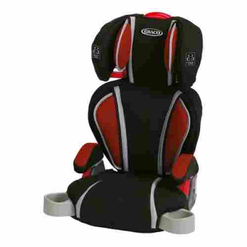 graco turbobooster lava high back booster seat design