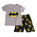Gray Bat Boys Shorts 2 Piece 100% Cotton