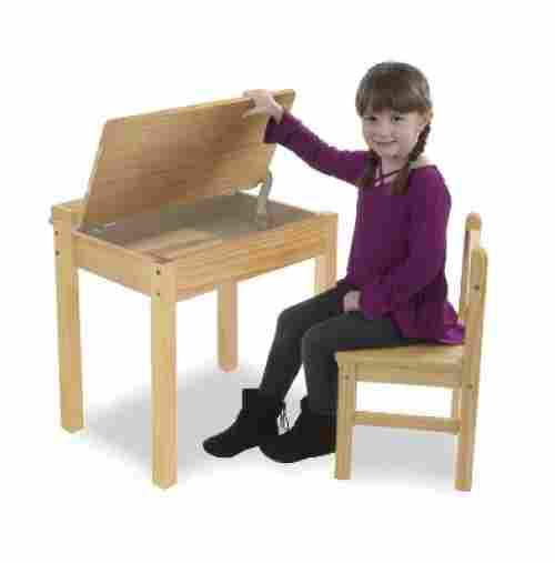 melissa and doug kids desk lift-top