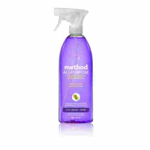 method natural cleaning product bottle
