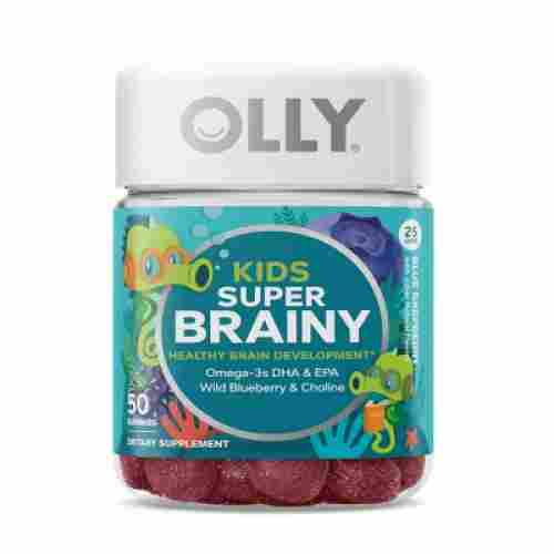 OLLY Super Brainy Blue Raspberry