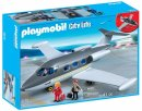 playmobil private jet box