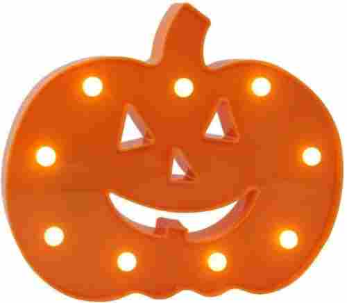 pumpkin light marquee sign halloween decorations front