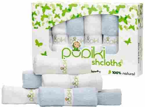 pupiki baby washcloths organic