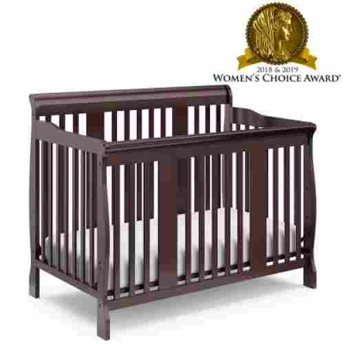 storkcraft tuscany 4-in-1 convertible crib award