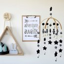 Tik Tak Design Co. Stars and Planets in Monochrome