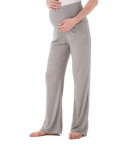 Ecavus Women's Maternity Wide Comfy Lounge Pants