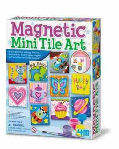 4563AM Magnetic Mini Tile Art by 4M