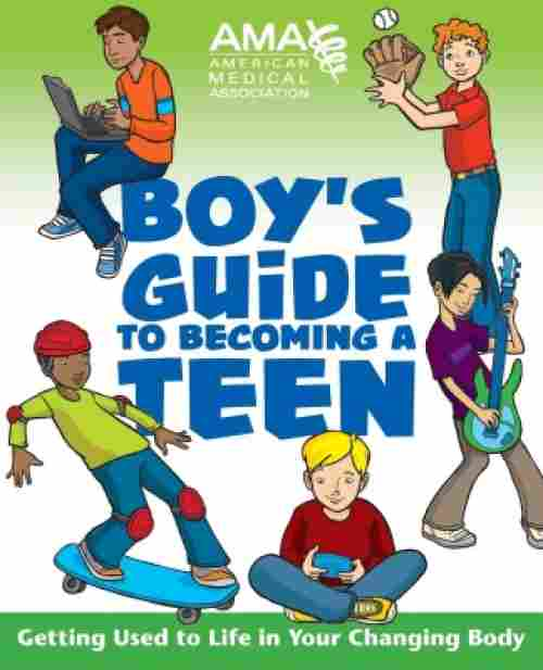 boy's guide to becoming a teen puberty book for boys cover