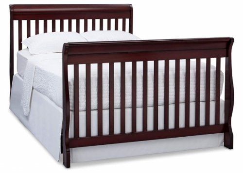 delta children canton 4-in-1 convertible crib bed