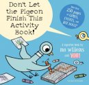 Don't Let the Pigeon Finish! activity book for preschoolers