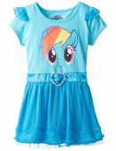 Dress with Ruffles and Wings