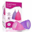 dutchess set of 2 menstrual cups pack
