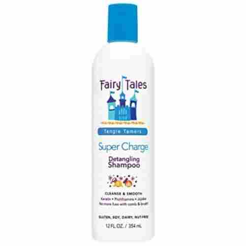 fairy tales super-charge detangling shampoo for kids and babies