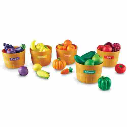 farmer's market color sorting set learning resources toy set